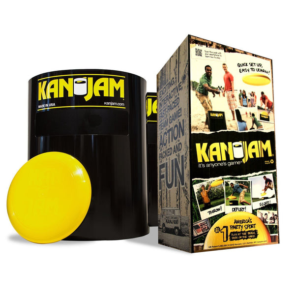 KanJam 102863 Original 2-On-2 Flying Disc Game