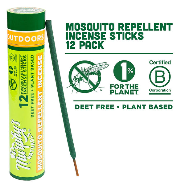 Murphy's Naturals MD001A Mosquito Repellent Incense Sticks, 12-Pack