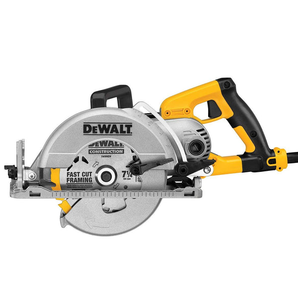 DeWalt DWS535B Worm drive Circular saw with Electric Brake, 7-1/4""