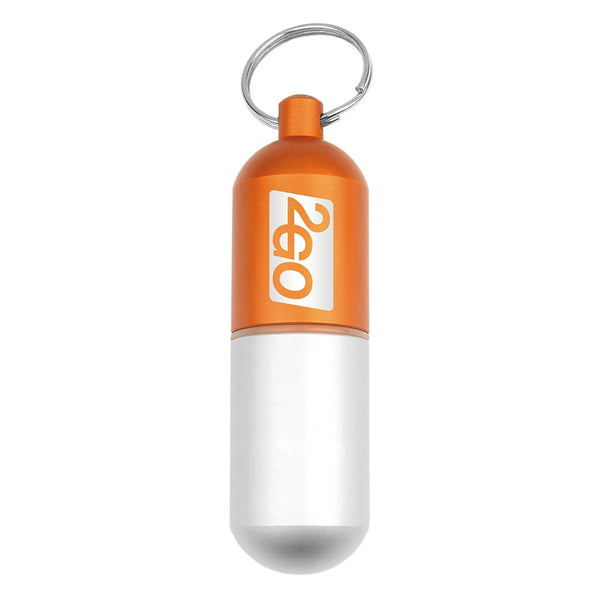 Hy-Ko KC609 Survival Capsule Key Chain, Medium