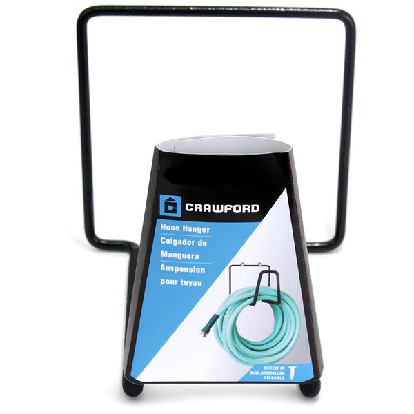 Crawford CMHH-6 Medium Duty Metal Hose Hanger, Holds Upto 35 Lbs