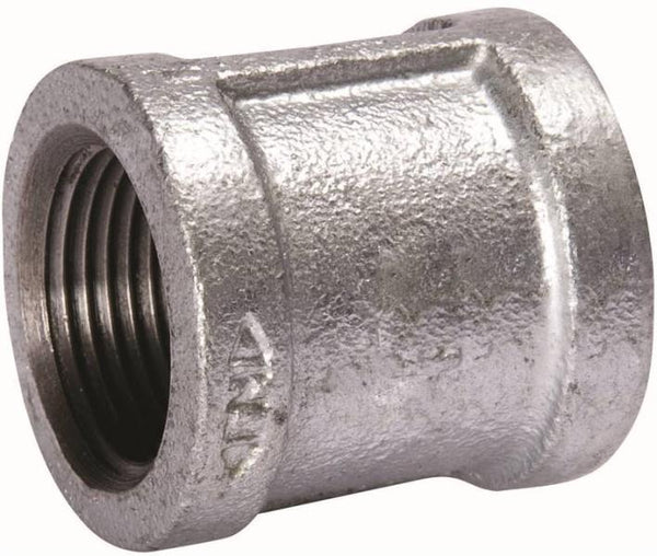 "Mueller 511-210BC Pipe Coupling, 3"", Threaded, 150 PSI, Malleable Iron"