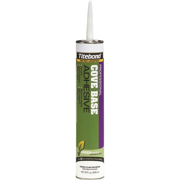 Titebond 3402 GREENchoice Professional Cove Base Adhesive, Beige, 29 Oz