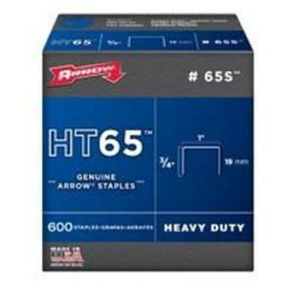 Arrow 65S Fastener 65S Staples, 3/4""