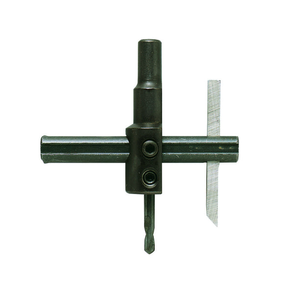"General Tools 4 Circle Cutter for Woodworking, Steel, 4"" Max"