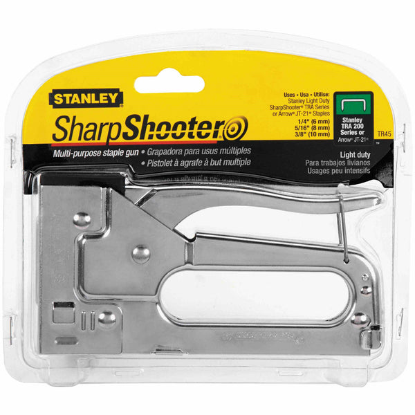 Stanley TR45 Sharp Shooter Light Duty Multi-Purpose Staple Gun