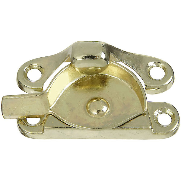 National Hardware N243-840 Die-Cast Zinc Sash Lock, Brass Finish