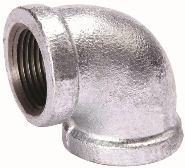 "Mueller 510-011BC Malleable Iron Pipe Elbow, 90 Degree, 4"", Threaded"