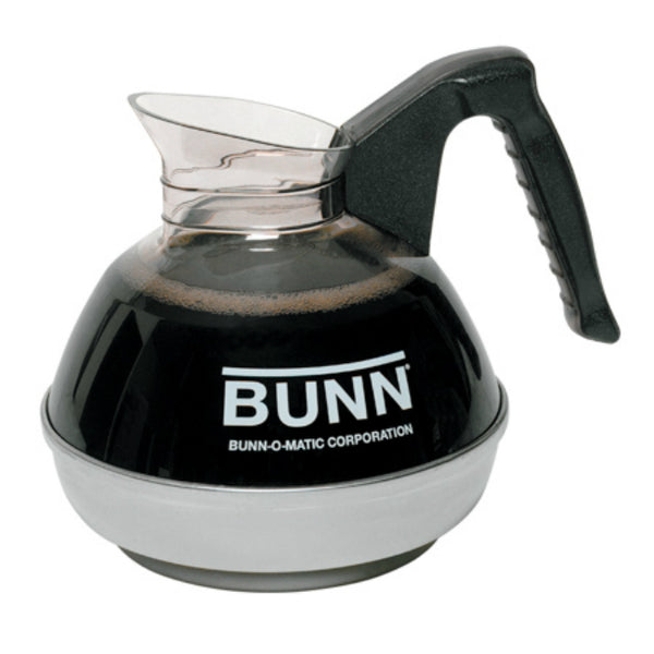 BUNN 6100 Handle Easy Pour Coffee Decanter with Black Handle, 12-Cup