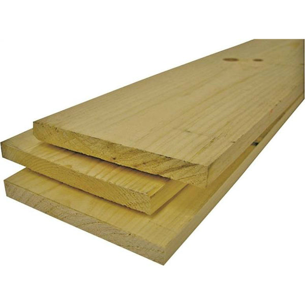 "Alexandria Moulding 0Q1X6-70096C American Wood Common Board, 1"" x 6"" x 8'"
