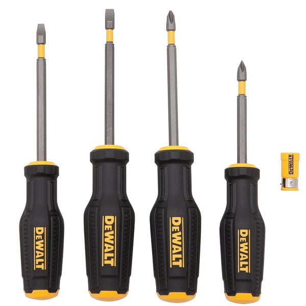 DeWalt DWHT62054 MAX FIT Screwdriver Set, 4-Piece