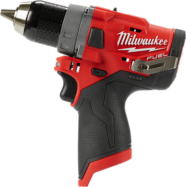 Milwaukee 2503-22 M12 Cordless FUEL Drill Drive with Brushless Motor, 1/2""