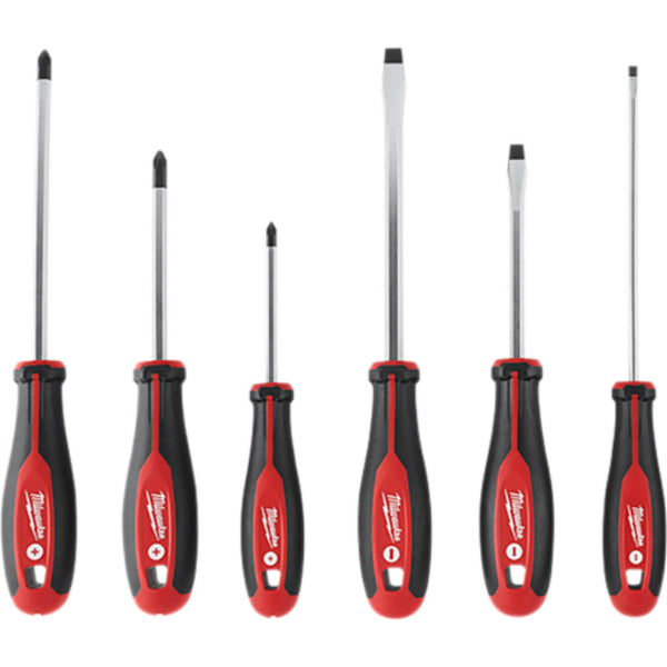 Milwaukee 48-22-2706 Screwdriver Set with Tri-Lobe Handle, 6-Piece
