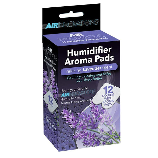 Air Innovations AP01 Essential Oil Humidifier Aroma Refill Pads, Lavender, 12-Ct