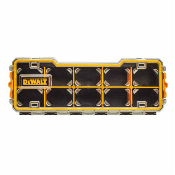 DeWalt DWST14835 Pro Organizer with 10-Compartment, Yellow/Black