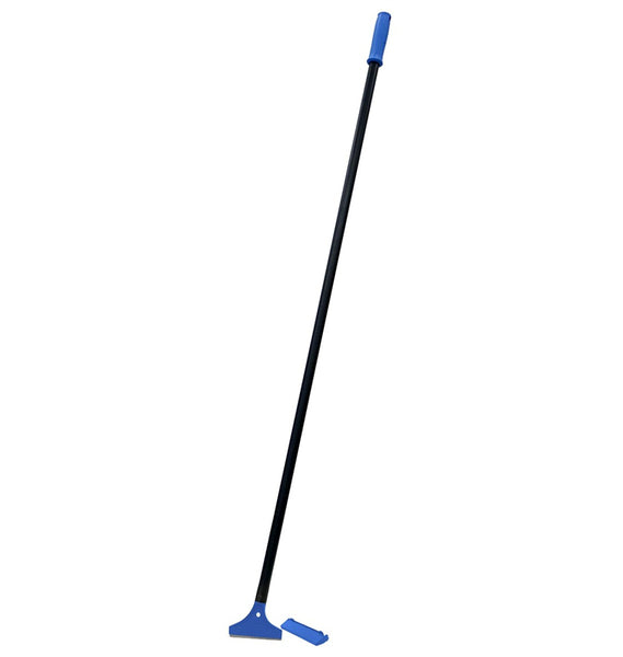 Unger 977120 Heavy-Duty Floor Scraper with Pole, 48""