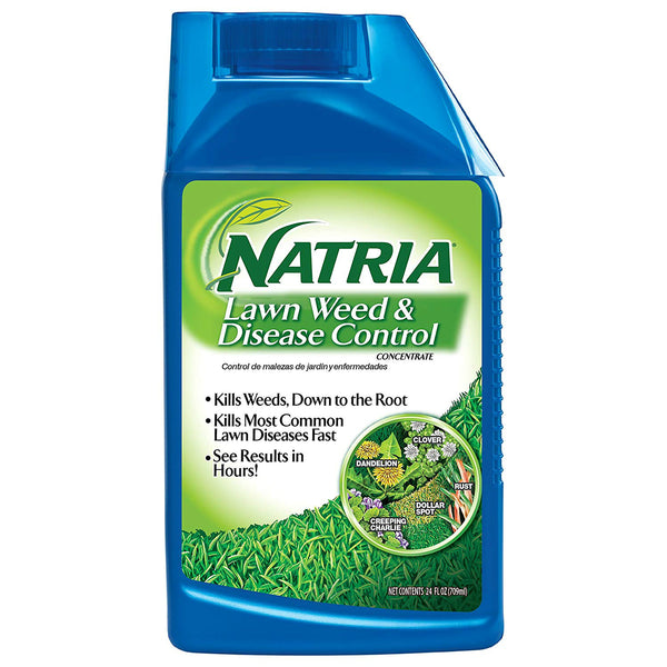Natria 706410A Lawn Weed & Disease Control, Concentrate, 24 Oz