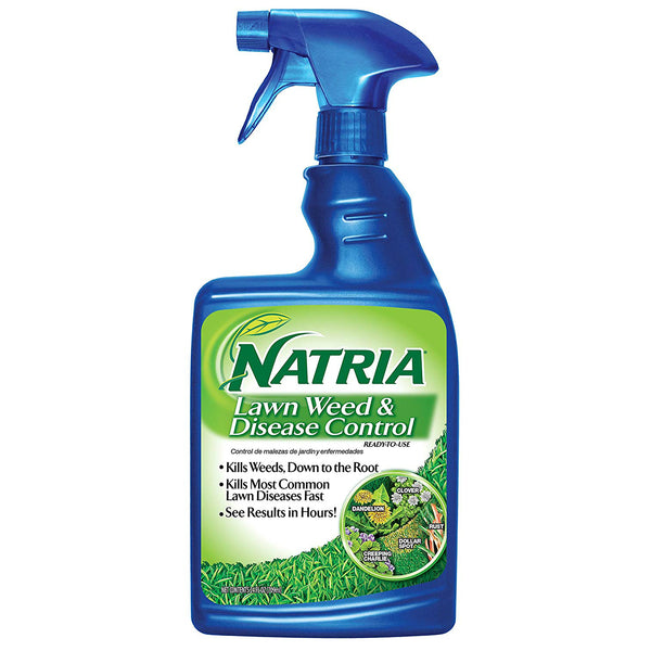 Natria 706400A Lawn Weed & Disease Control, Ready-To-Use, 24 Oz