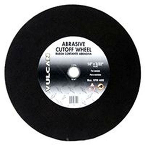 "Vulcan 918120OR Aluminum Oxide Abrasive Cut-Off Wheel, 14"" x 3/32"""