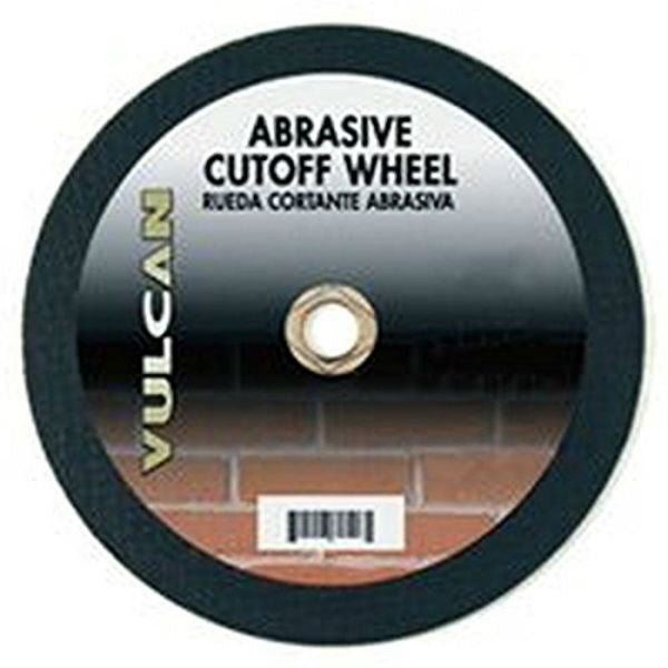 "Vulcan 925920OR Aluminum Oxide Abrasive Cut-Off Wheel, 1"" Arbor, 12"" x 3/32"""
