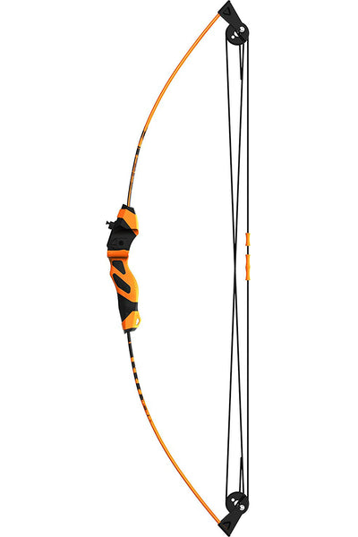 Barnett 1269 Wildhawk Recurve Youth Archery Set, Black & Orange