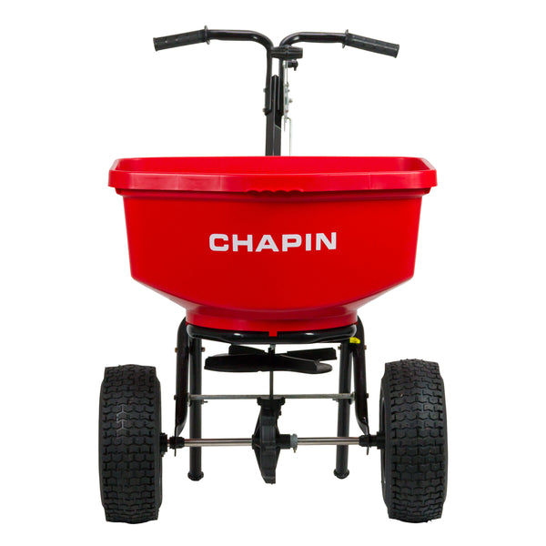 Chapin 8303C Contractor Turf Spreader, 100 Lb