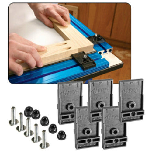 Kreg KKS1030 Plastic Clamp Block Set for use with Kreg Klamp Trak, 5-Count