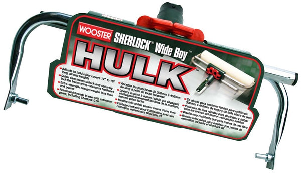 "Wooster BR047-18 Sherlock Wide Boy Hulk Adjustable Roller Frame, 12"" - 18"""