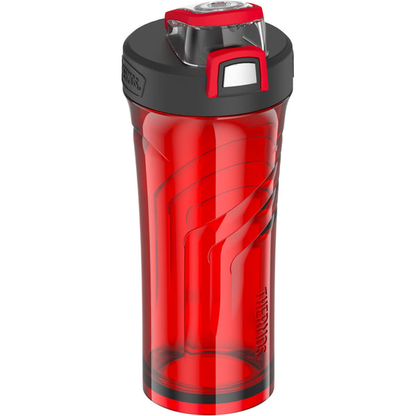 Thermos TP4097RD6 Element5 Hydration Bottle with Push Button Lid, Red, 24 Oz