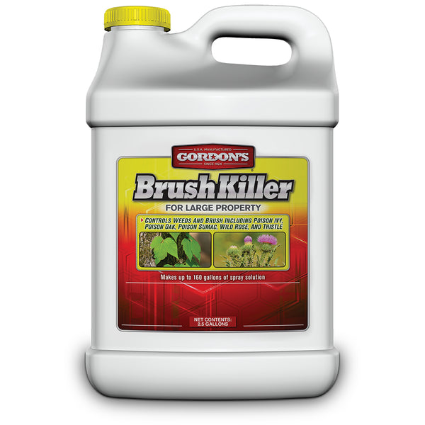 Gordon's 2321122 Brush Killer for Large Property, Concentrate, 2.5 Gallon