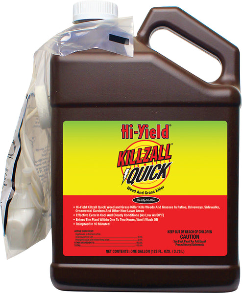 Hi-Yield 32169 Quick Weed & Grass Killer, Ready-to-Use, 1-Gallon