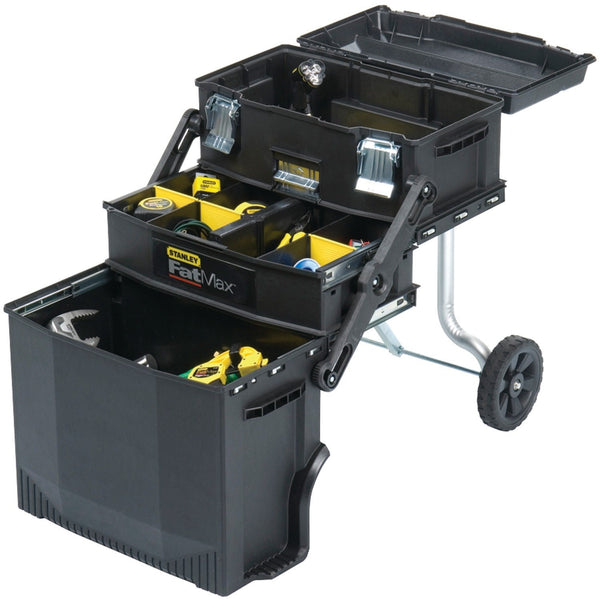 Stanley 020800R FatMax 4-in1 Portable Mobile Work Station for Tools & Parts