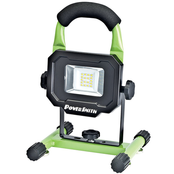 PowerSmith PWLR1110M Rechargeable LED Work Light with Magnetic Base, 900 Lum