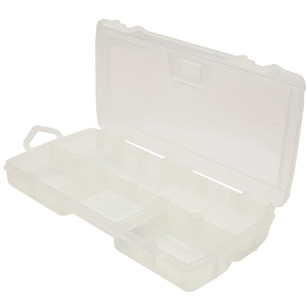 Stanley 014009R Small Parts Organizer with 11-Compartments, Clear