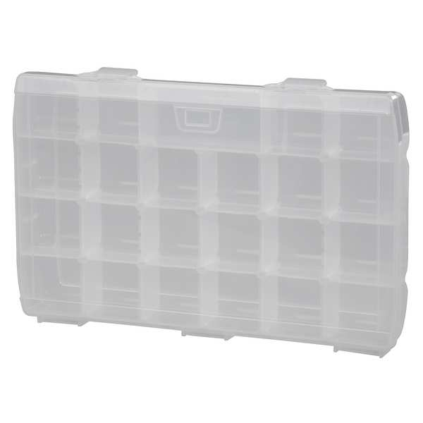Stanley 014014R Organizer with 23 Compartments, Clear, 14""