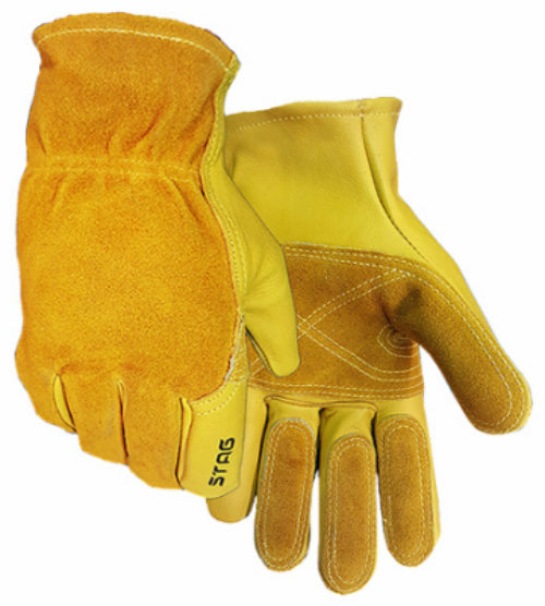 Golden Stag 240XL Men's Premium Grain Cowhide Leather Fencing Glove, X-Large