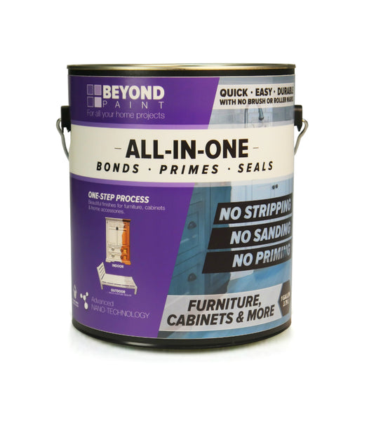 Beyond Paint BP24 All-in-One Refinishing Paint, Bright White, 1-Gallon