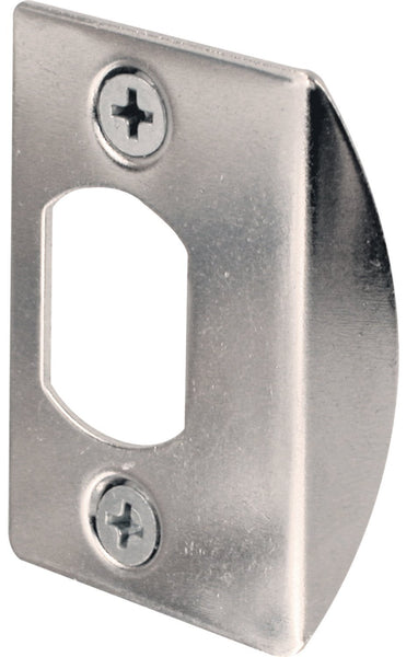 "Prime-Line E-2234 Standard Steel Latch Strike, Chrome, 2-1/4"" x 1-3/4"""