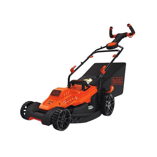 "Black & Decker BEMW482ES Electric Lawn Mower w/ Pivot Control Handle, 17"", 12A"