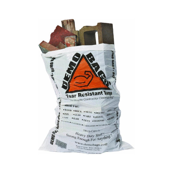 DemoBags DB42-20-SE-7M-V2 Woven Contractor Trash Bags, 7-Mil, 42-Gallon