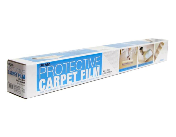 "Trimaco 63620 Easy Mask Non-Skid Protective Carpet Film, 36"" x 200'"