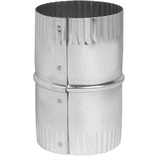 Imperial GV1588 Galvanized Round Duct Connector Union, 4""