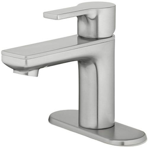 HomePointe 3450-B1-A04-MC Single Handle Lavatory Faucet, PVD Brushed Nickel