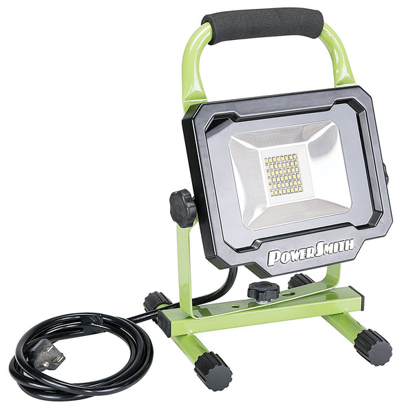 PowerSmith PWL1124BS Portable LED Work Light, 2500 Lumen