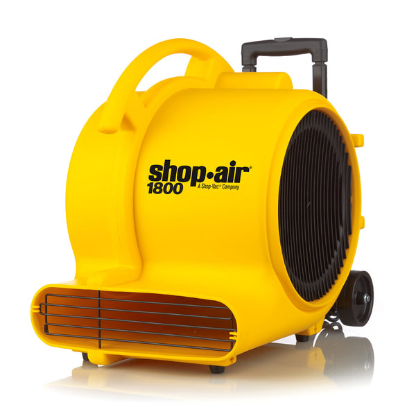 Shop-Vac 1030100 Large 3-Speed Air Mover, 5 Amp, 1800 Max CFM