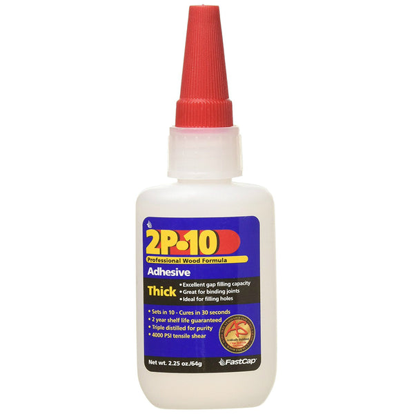 FastCap 8276005 2P-10 Solo Thick Adhesive Refill, 2.25 Oz
