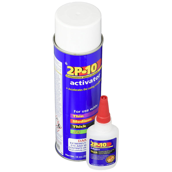 FastCap 8276001 The 2P-10 Solo Kit with 2 Oz Thick Adhesive & 12 Oz Activator