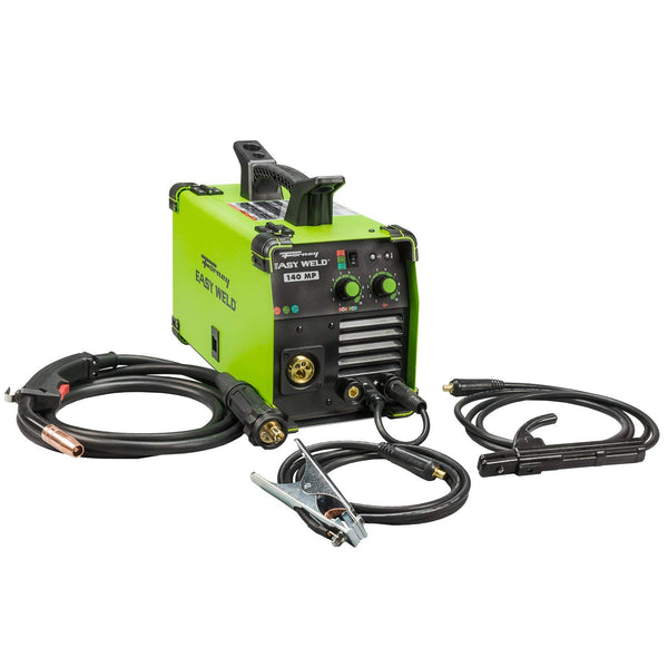 Forney 271 Easy Weld Portable 140 MP 3-In-1 Machine, 120V, 140A