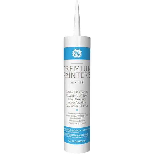 GE GE5091 Premium Painter's Sealant, White, 10.1 Oz