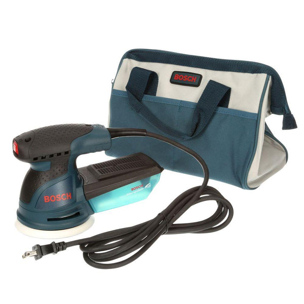 "Bosch ROS20VSC Random Orbit Sander/Polisher with Carrying Bag, 5"", 2.5 Amp"
